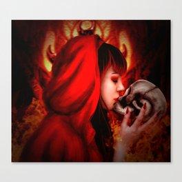 Hell's Kiss Canvas Print