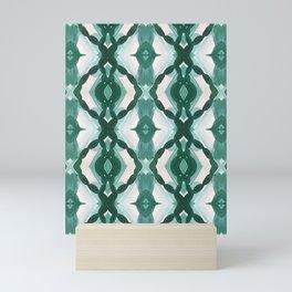 Watercolor Green Tile 1 Mini Art Print