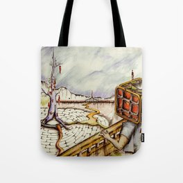 """Cubical"" Tote Bag"