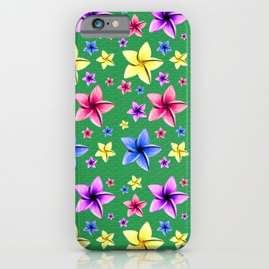 Flower Crazy iPhone & iPod Case