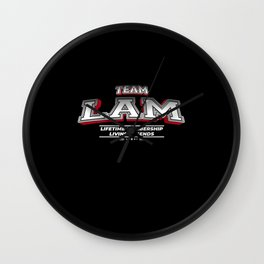 Team LAM Family Surname Last Name Member Wall Clock