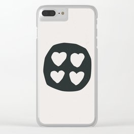 Kuare (Window of the Soul) Clear iPhone Case