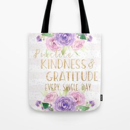 Kindness & Gratitude Tote Bag
