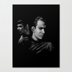 Kirk & Spock Canvas Print
