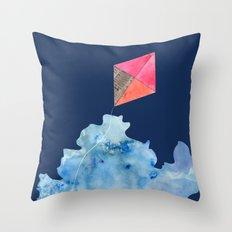 Kite Up Throw Pillow
