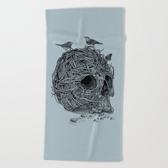 Skull Nest Beach Towel