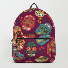 Sugar Skull Pattern Backpack