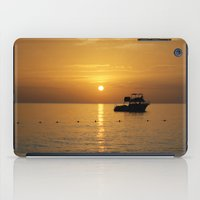jamaica iPad Cases featuring Sunset in Jamaica  by Jason Carnegie