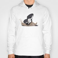 sneaker Hoodies featuring The Sneaker (Wordless) by rob art | illustration
