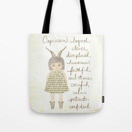 Capricorn girl Tote Bag