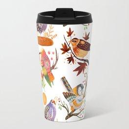 Seasonal Birds Travel Mug