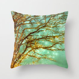 newly magical reversed Throw Pillow