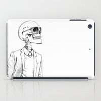 gentleman iPad Cases featuring Gentleman by Mike Koubou