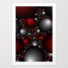 """""""Orbs Of Plenty"""" Fractal Art Print Art Print"""