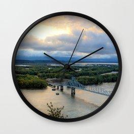 Black Hawk Autumn Pano Wall Clock