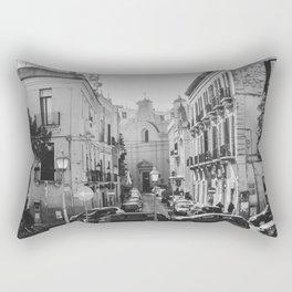 street in Bari Rectangular Pillow