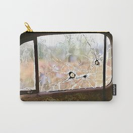Bullet holes in truck window Carry-All Pouch