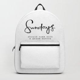 Sundays Backpack