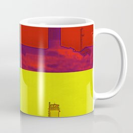 Pop Art Lighthouse Coffee Mug