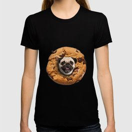 Pug Chocolate Chip Cookie T-shirt