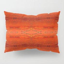 Rustic Orange Geometric Southwestern Pattern - Luxury - Comforter - Bedding - Throw Pillows - Rugs Pillow Sham