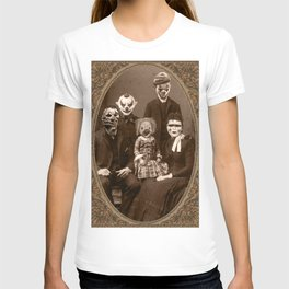 Creepy Clown Family Halloween T-shirt