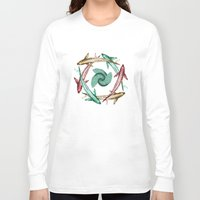circle Long Sleeve T-shirts featuring Circle by DebS Digs Photo Art