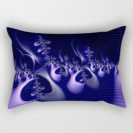 Hypnotique Blue Rectangular Pillow