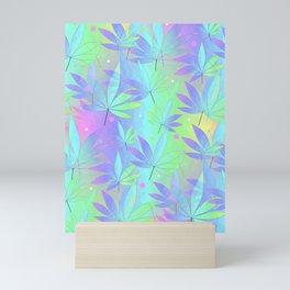 Weed Leaf Mini Art Print