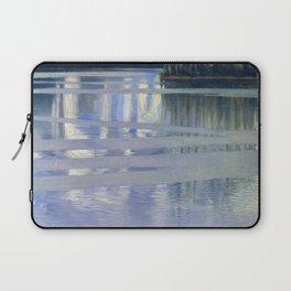 Akseli Gallen-Kallela - Lake Keitele - Digital Remastered Edition Laptop Sleeve