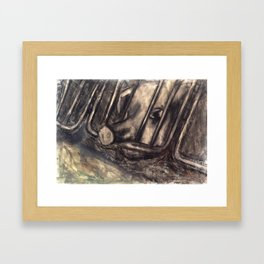 Sario Painter, Animal Farm. Framed Art Print