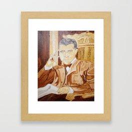 BOOKER T WASHINGTON Framed Art Print