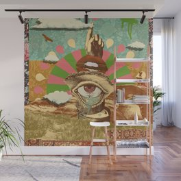 AFTERNOON PSYCHEDELIA Wall Mural