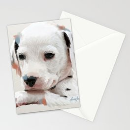 Dalmation Pup Stationery Cards
