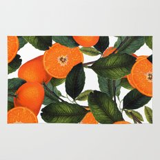The Forbidden Orange #society6 #decor #buyart Rug