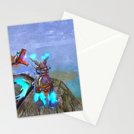 Horse race winner - 赛马冠军 Stationery Cards