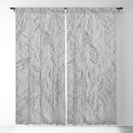Scribbled Paper Blackout Curtain