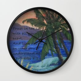 A New Sunset AC161208s Wall Clock