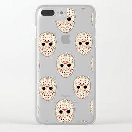 Jay-sun Clear iPhone Case