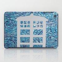 tardis iPad Cases featuring Tardis by Sahara Novotny