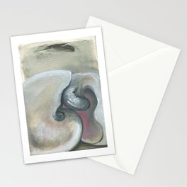Sleeping Lovers (Shells) Stationery Cards