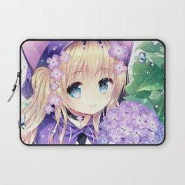 Lilla manga anime girl Laptop Sleeve