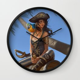 Kidds Treasure Wall Clock