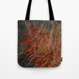 Fiery Silence Tote Bag
