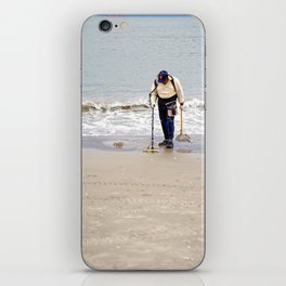 Searching for Treasure iPhone Skin
