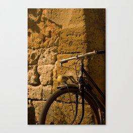 Bike Stop Canvas Print
