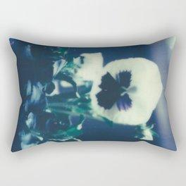 Pansy Bloom Rectangular Pillow