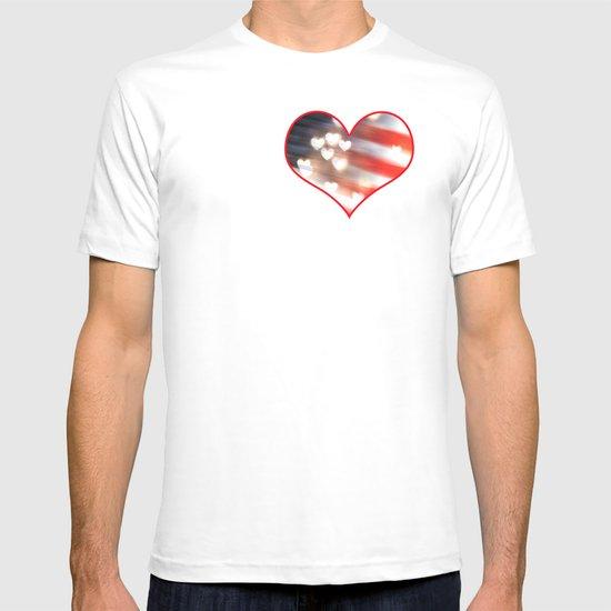 A Love as Big as America T-shirt