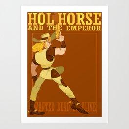 The Whole Horse Art Print