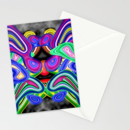 Colored nightmare ... Stationery Cards